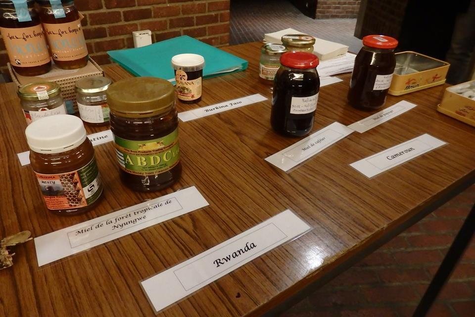 Dégustation de miels tropicaux